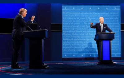 Viime hetken täyskäännös – Trumpin ja Bidenin viimeinen debatti olikin yllättäen debatti