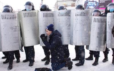 Venäjä otti oppia Valko-Venäjän mielenosoituksista