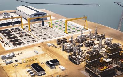 Tulevaisuuden vety, osa 3: Puhtaan vedyn tuotantolaitokset – gigatehtaita ja energialauttoja