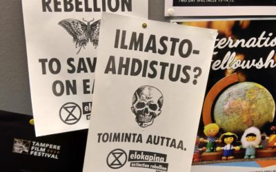 """""""Viimeinen siirto"""" kuvaa ympäristöliikettä, jossa on ekolokero jokaiselle aktivismin lajille"""